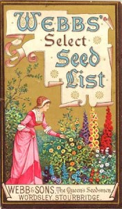webb and sons seed catalogue