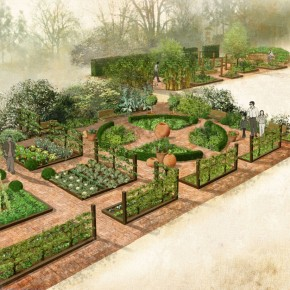 Edible and Useful in London's oldest garden