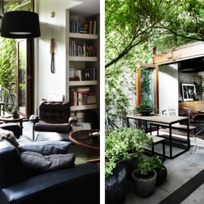 Inspiration for a family courtyard space