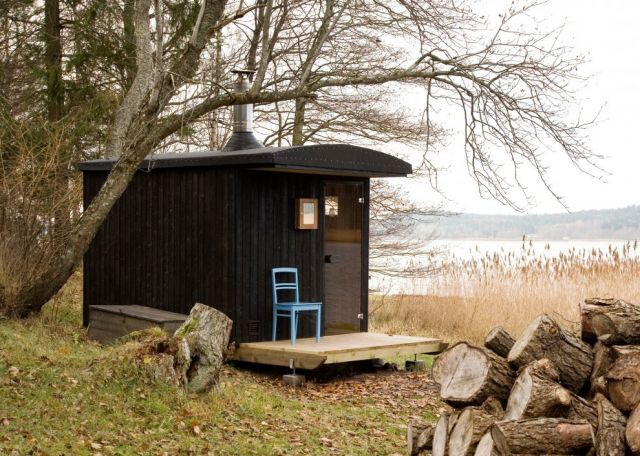 cabin Sauna on the Åland Islands