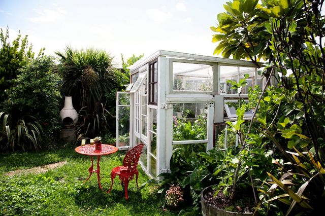 cabin greenhouse, Auckland, New Zealand